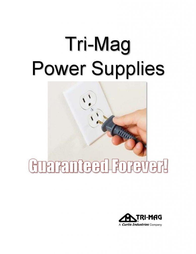 tri mag power supplies warranty